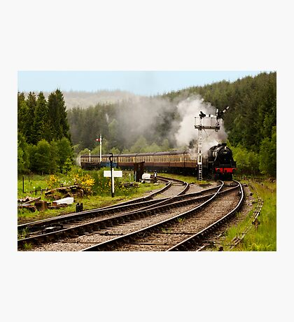 The Train Arriving Photographic Print