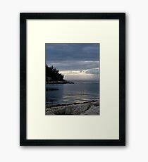 Rays of Heaven Framed Print