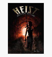Heist - Cover Photographic Print