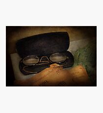 Optometrist - Glasses for Reading  Photographic Print