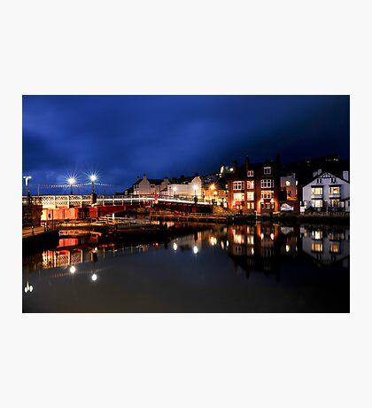 Whitby Swing Bridge Photographic Print