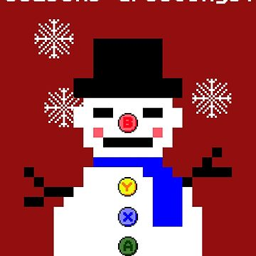 Frosty the Keypad by PaperGoblin