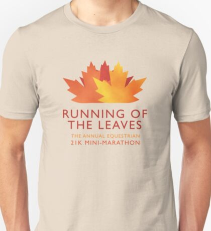 Running of the Leaves T-Shirt