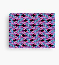 Swirlycule Pattern Canvas Print