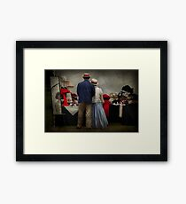 Store - The hat stand  Framed Print