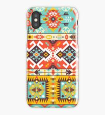 Aztec colorful fashion pattern iPhone Case/Skin