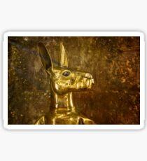 A Golden Roo at Arakoon Sticker