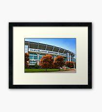 Cleveland Browns Stadium - Cleveland, Ohio Framed Print