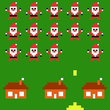 Santa Invasion by PaperGoblin