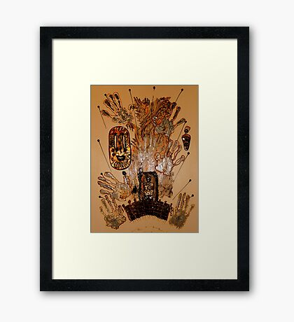 The Spirit of Survival Framed Print