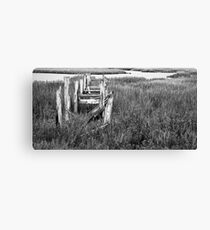 The Old Dock Canvas Print