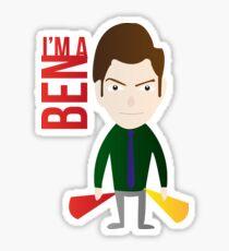 IM A BEN Sticker