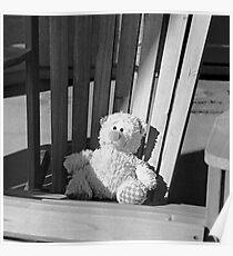 Sad Bear Poster