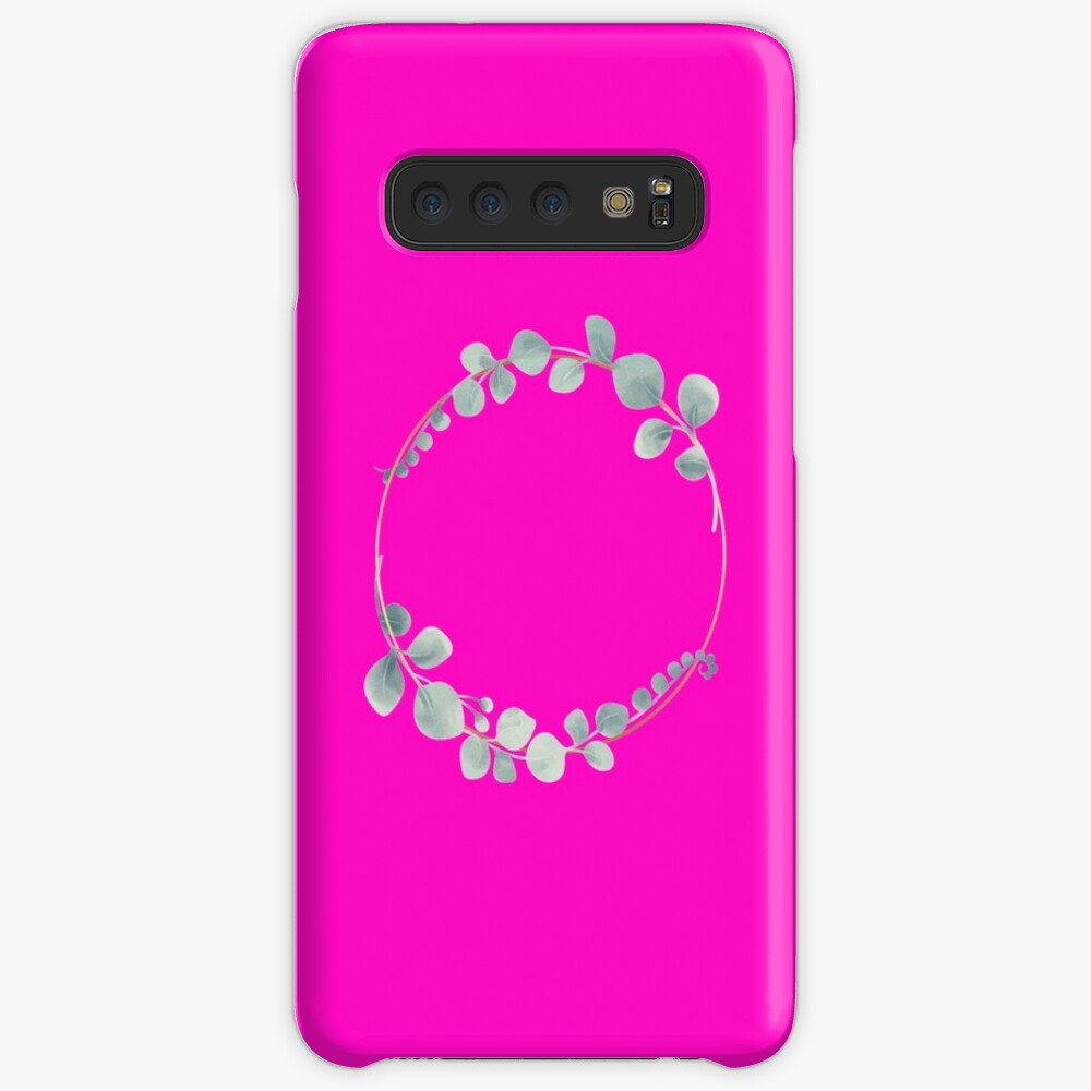 Gold circle with leaves Case & Skin for Samsung Galaxy