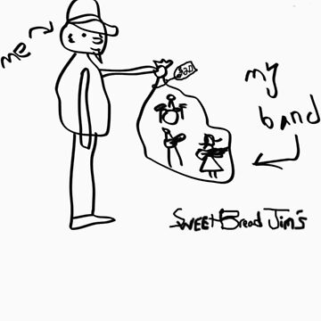 """SweetBread Jim's """"My Band"""" (Black) by C110"""