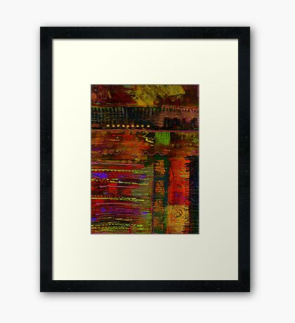 Some Bridges Are Harder to Cross Framed Print