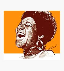 Aretha Franklin Photographic Print