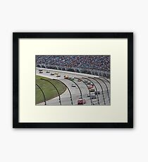 Chicagoland Speedway Geico 400 Race Framed Print