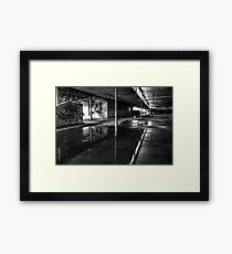 Bipolar Reflections Framed Print