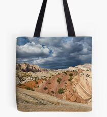 Split Mountain from Sound of Silence Trail Tote Bag