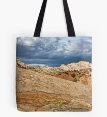 Split Mountain from Sound of Silence Trail 2 Tote Bag