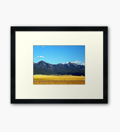 Mission Mountains 3 Framed Print
