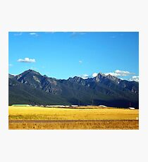 Mission Mountains 3 Photographic Print