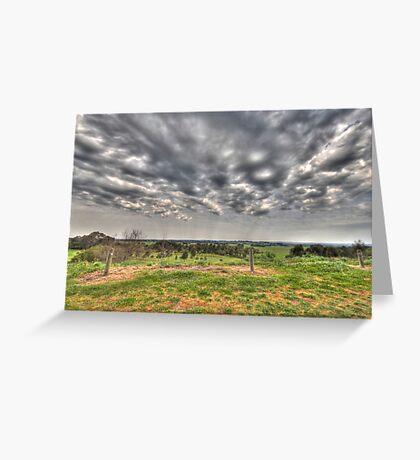 Storms Horizon Greeting Card