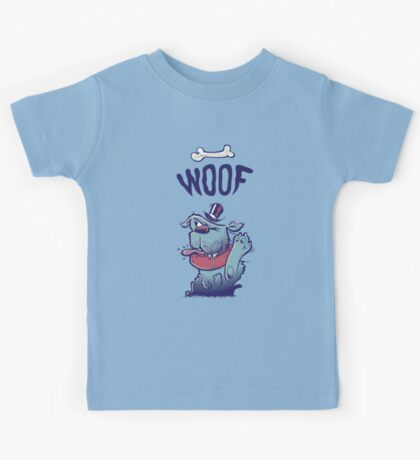 Woof Top Hat Dog Kids Clothes