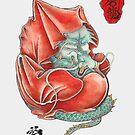 Dharma Dragon by yakudo-kan