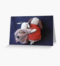 Boris & Errol Cuddles Greeting Card