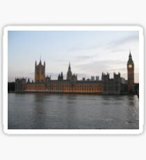 Westminster Palace - The Houses of Parliament Sticker