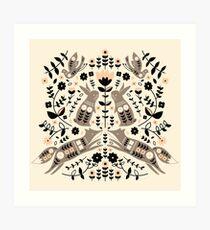Woodland Folklore  Art Print