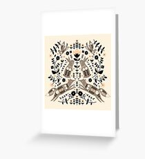 Woodland Folklore  Greeting Card