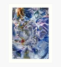 Morphic fields of the mysterious mind Art Print