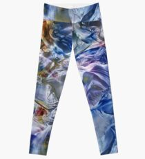 Morphic fields of the mysterious mind Leggings