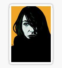 Portrait 3 Sticker