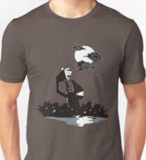 Surprise Ninja Attack on a Moonlit Night T-Shirt