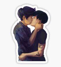 Male Kiss Sticker