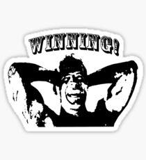Die Hard: winning! Sticker