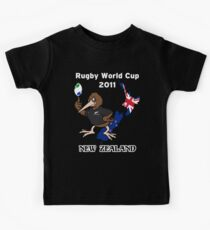 Rugby World Cup 2011 - All Blacks Kiwi Kids Clothes