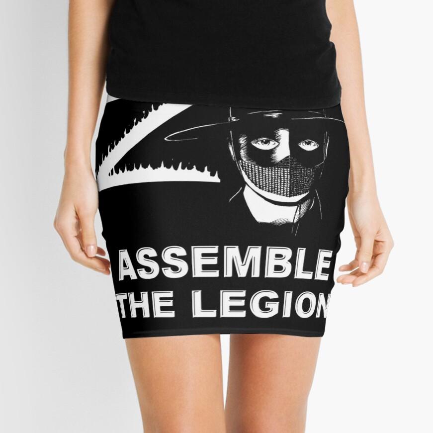 Zorro - Assemble the Legion Mini Skirt