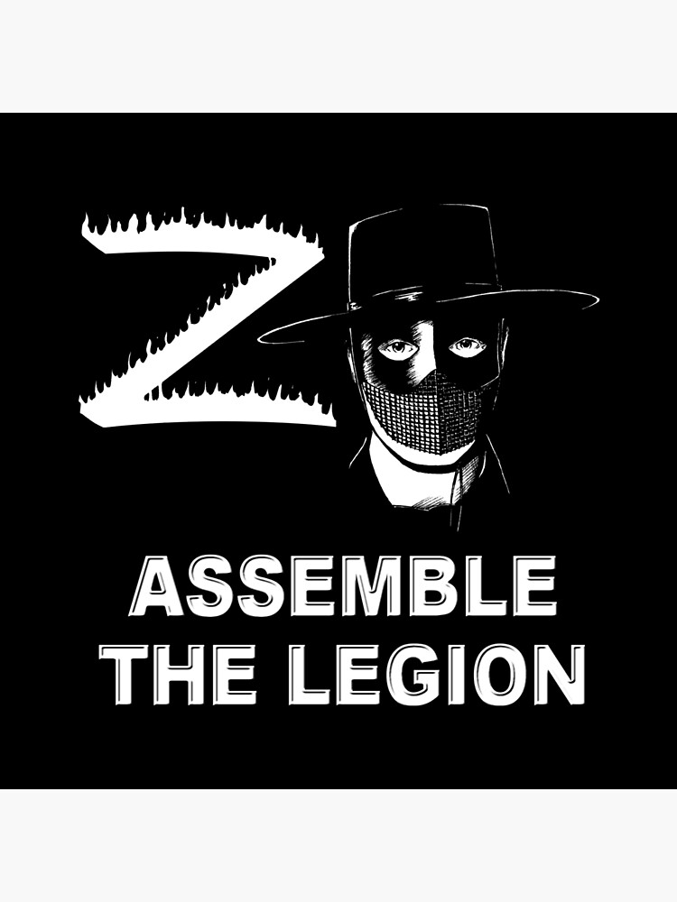 Zorro - Assemble the Legion by kerchow