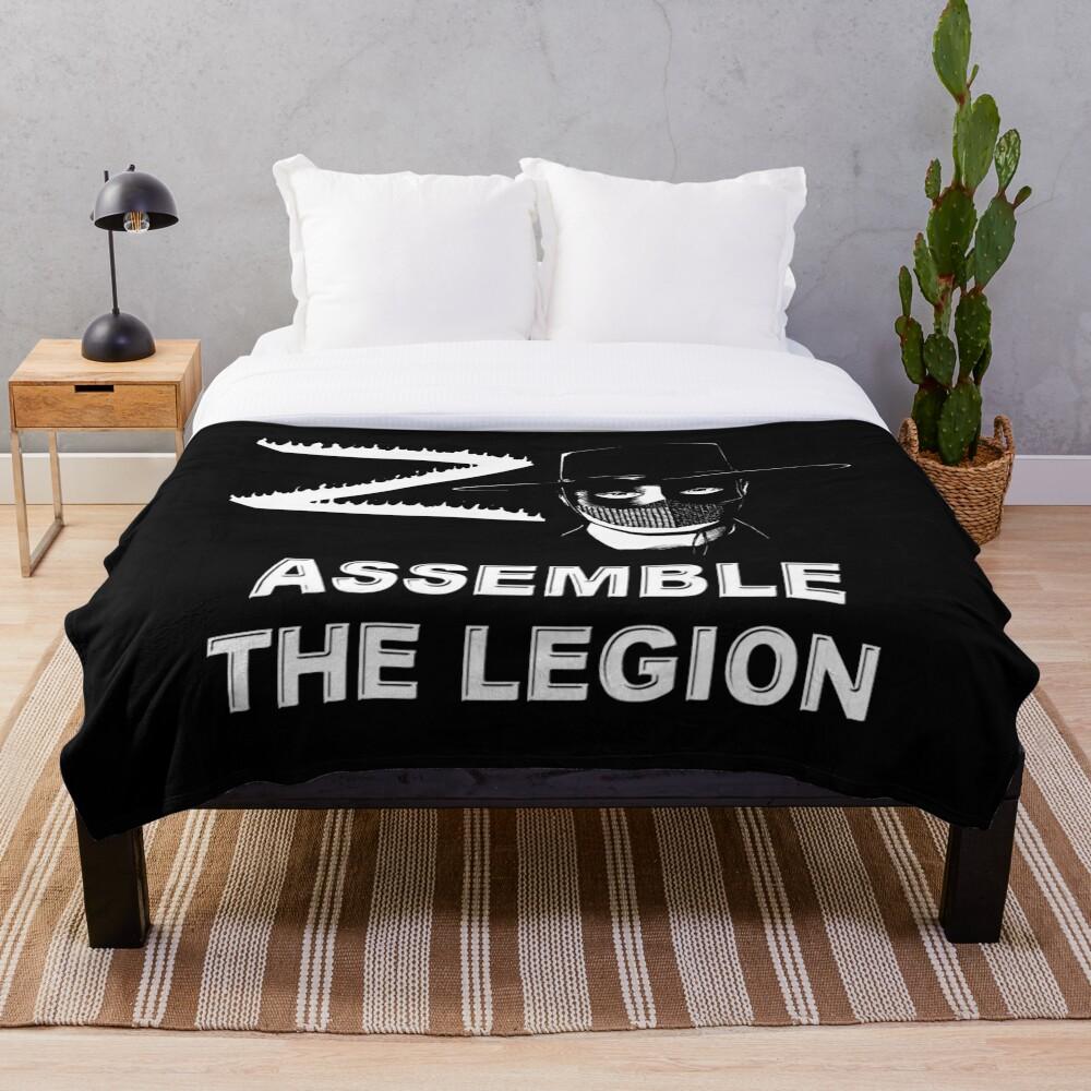 Zorro - Assemble the Legion Throw Blanket