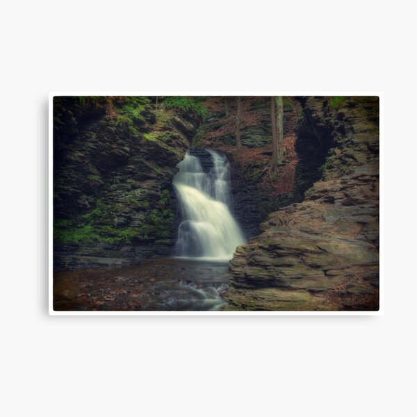 Upper Bridesmaid's Falls (version II) Canvas Print