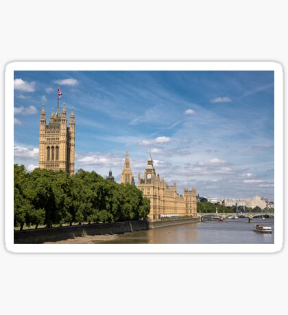 Houses of Parliament, London Sticker