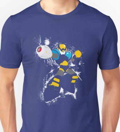 Flash Man Splattery Vector T T-Shirt