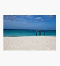 Empty Beach Photographic Print