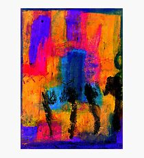 Woman with Three Legs Photographic Print