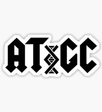 AC/DC DNA Sticker